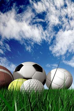 outdoor sports balls
